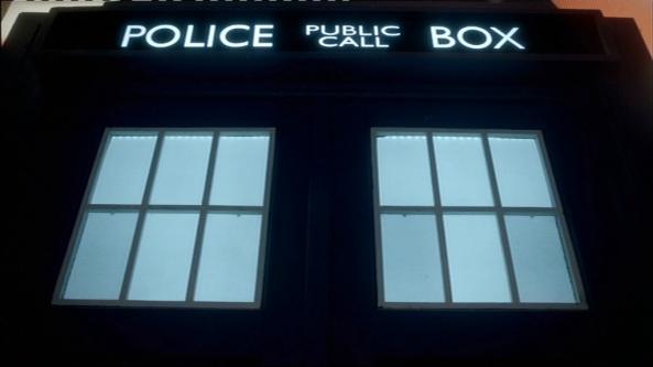 Disapproving TARDIS