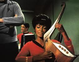Uhura's space harp